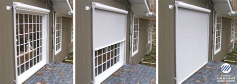 house window outside shades exterior solar shades ae door window