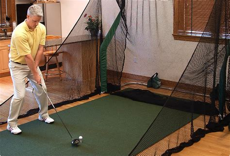 how to practice golf swing indoor golf practice net