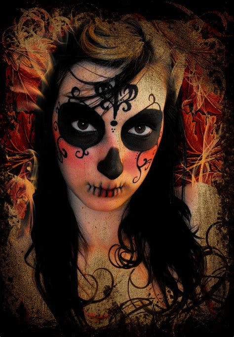 dama de la muerte by willuna on