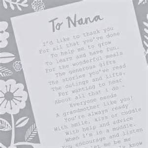 appreciation letter grandmother a letter to grandmother poem print by bespoke verse how to sign a letter from grandma to grandaughr just b cause