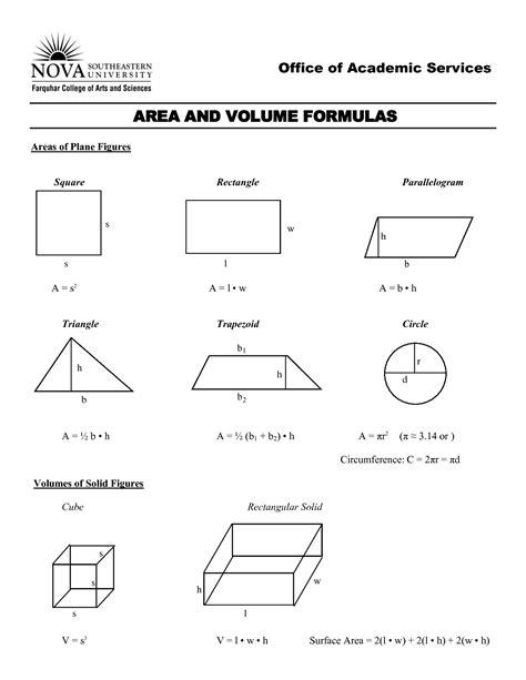 area formula area and volume equations jennarocca