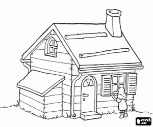 wood house coloring pages houses coloring pages printable games 2