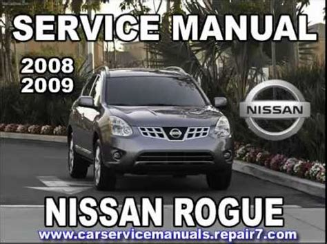 car repair manuals download 2008 nissan rogue electronic throttle control nissan rogue service manual autos post