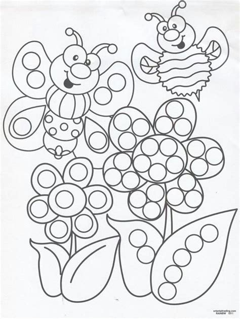 Q Tip Coloring Pages by Q Tip Painting Sheets Homeschool Preschool