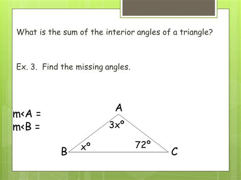 geometry 6 1 angles of polygons ppt