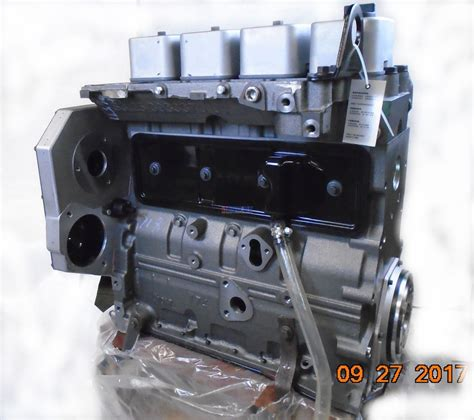 engine fits cummins case  bt   engine long block rotary pump piston