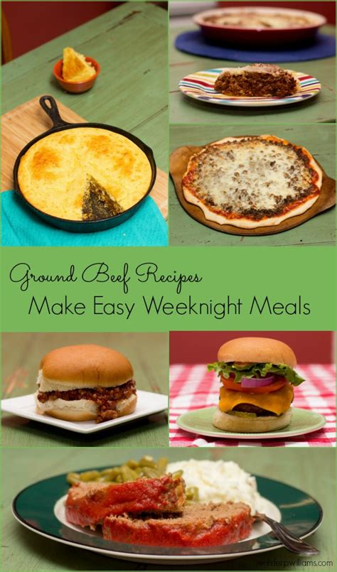 ground beef recipes that make easy weeknight meals