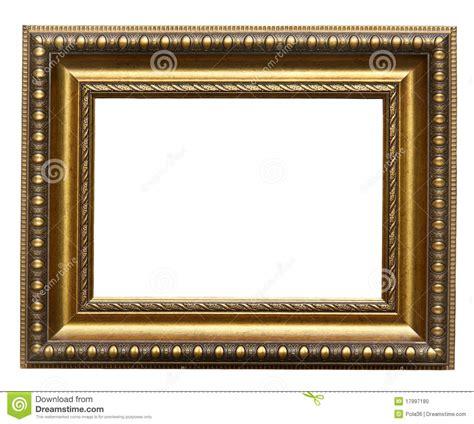 foto de cuadro marco del oro del cuadro foto de archivo imagen de