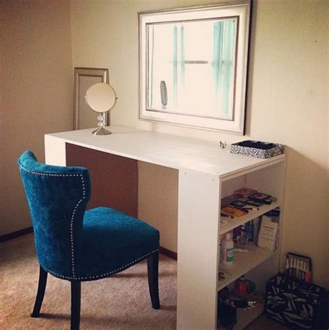 Diy Desk Vanity Diy Vanity Table House Stuff Pinterest Chairs Bookcases And The Chair