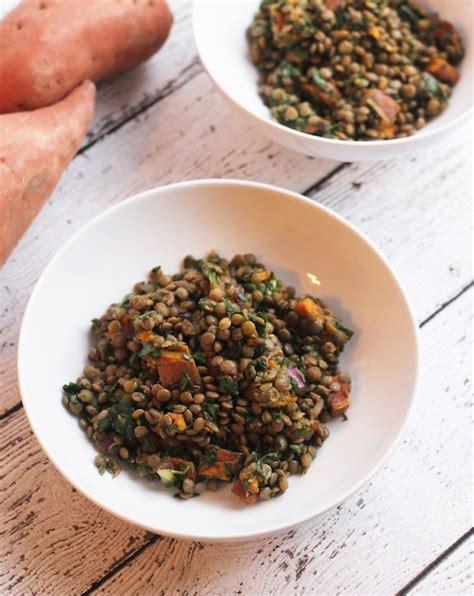 Lentil Detox Salad by Sweet Potato Lentil Kale Detox Salad Hummusapien
