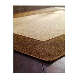 ikea karby rug drag 214 r rug flatwoven beige light brown room apartments and living rooms