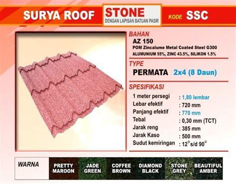 Nok Multiroof atap zincalume genteng metal insulations translucent multi roof atap murah atap upvc