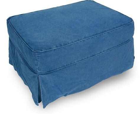 denim ottoman washed denim ottoman 379 99 feeling blue all