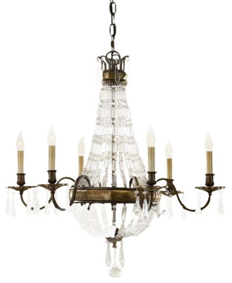 Murray Feiss Chateau Chandelier Murray Feiss Bellini 6 Light Bronze Chandelier F2461 6obz Brb Chandeliers By Chachkies