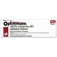 cyclosporine eye drops for dogs optimmune cyclosporine ophthalmic ointment 3 5 gm vetdepot