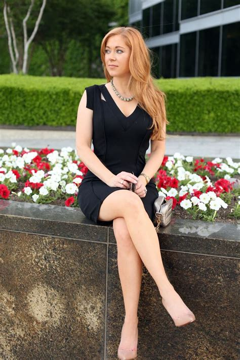 hilary kennedy wears kluster jewelry  black dress