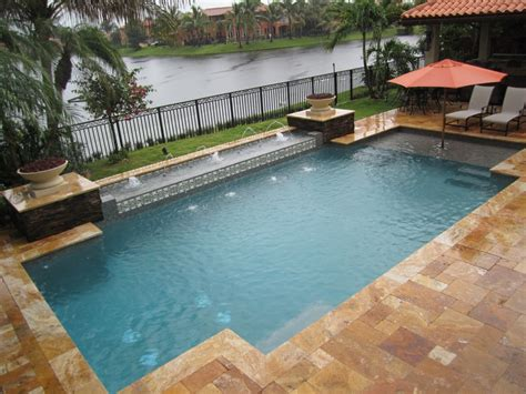 geometric pools geometric swimming pool davie pool builders inc pool