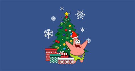 spongebob christmas tree quotes around the tree spongebob spongebob squarepants t shirt teepublic