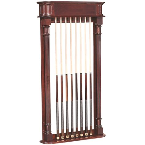 Billiard Wall Rack by Montebello Wall Rack Billiard Cue Racks The Great Escape