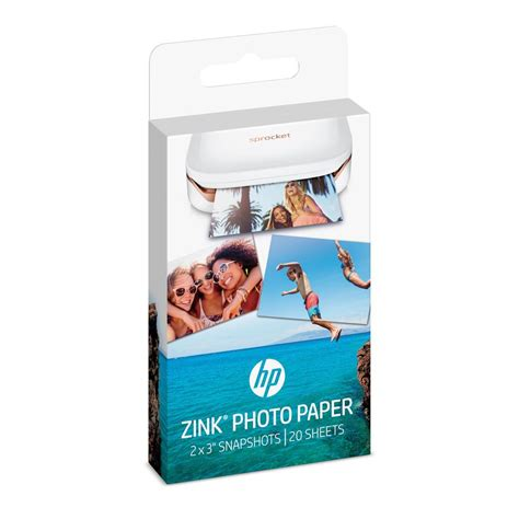 printable vinyl paper amazon hp zink r sticker photo paper for hp sprocket printer