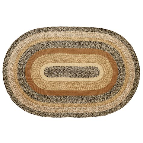 oval jute rug kettle grove braided jute rug oval or rectangle available with ebay