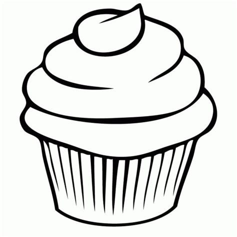 easy cupcake coloring pages cupcake color page cupcake coloring page netart coloring