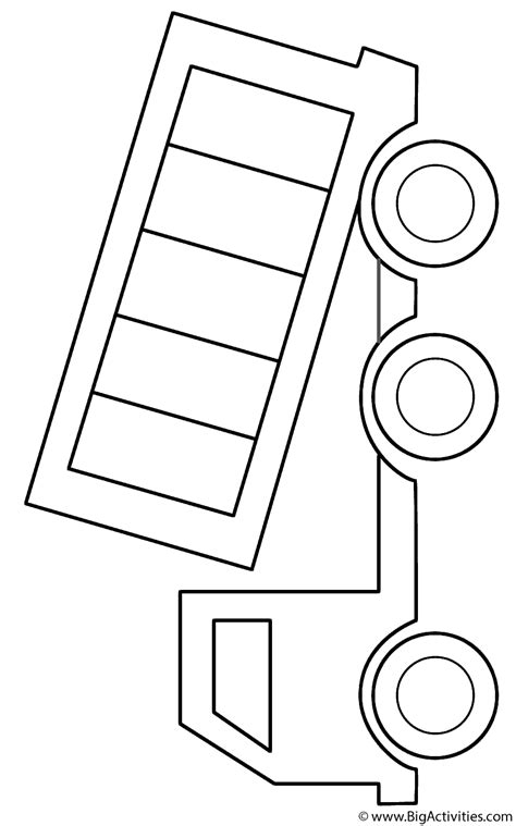 coloring page of dump truck dump truck coloring page transportation