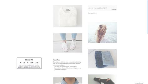 themes tumblr dark pale themes by rewarn