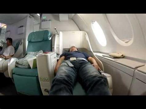korean air prestige class airbus a380 sleeper seat