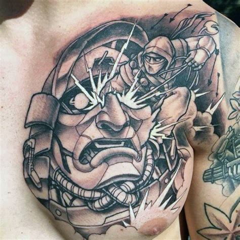 Japanese Tattoo Ninja | 30 ninja tattoos for men ancient japanese warrior design