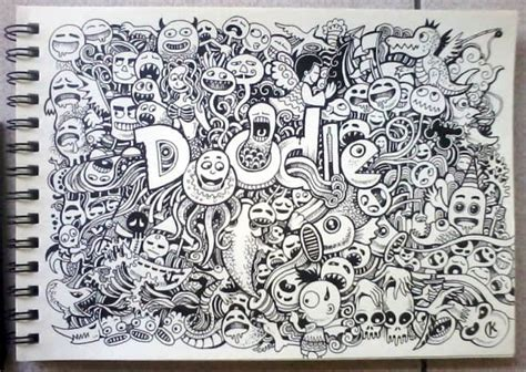 top doodle 25个高超手绘涂鸦艺术作品展示 ps笔刷吧 笔刷免费下载