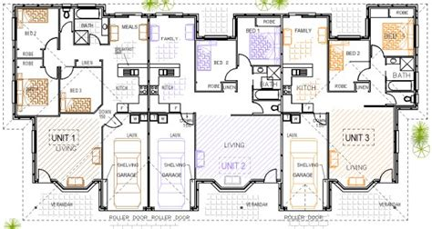 triplex floor plans triplex plans duplex triplex pinterest duplex design split level exterior and duplex