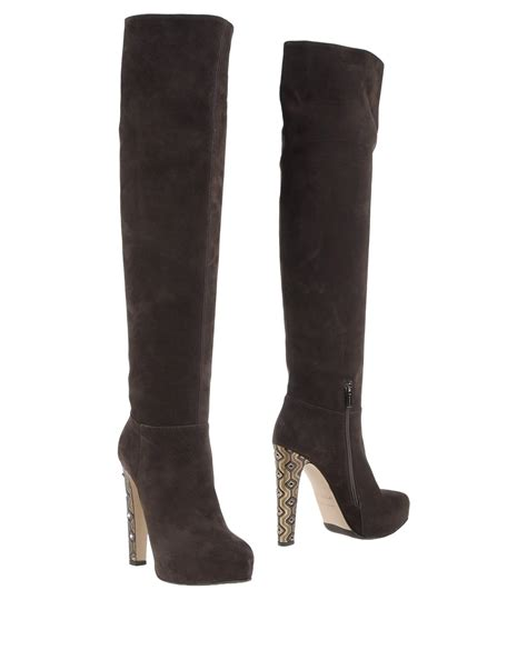 silla shoes le silla boots in brown lyst