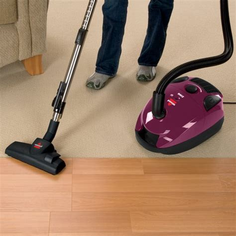 bissell zing bagged canister vacuum purple 4122 free