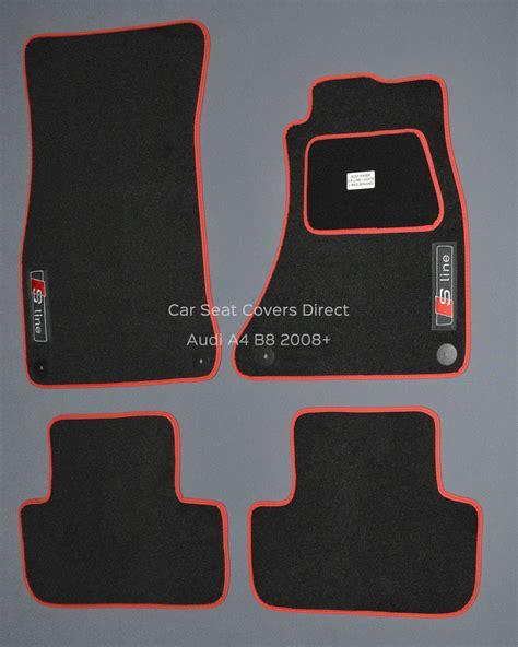 audi a4 b8 s line car mats car seat covers direct