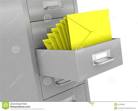 Document Drawer by File Drawer Royalty Free Stock Photos Image 21246398