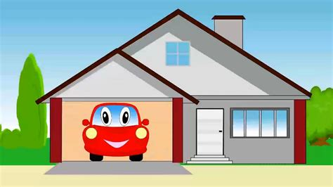 Garage Cartoon | cartoon about cars car garage kids video youtube