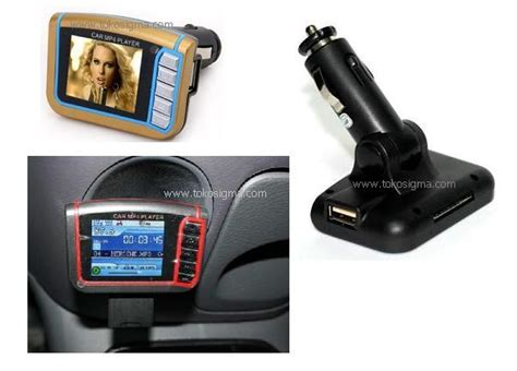 Harga Modulator Matrix 4 In 1 car mp4 player 1 8 inch with fm modulator toko sigma