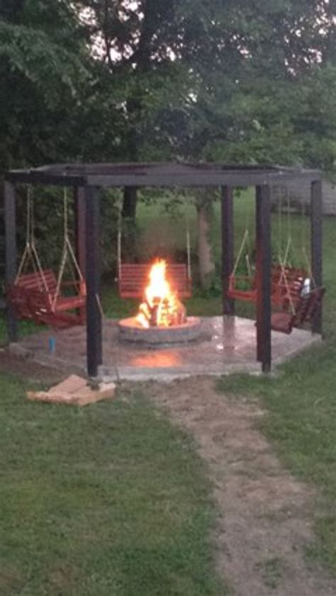 swing set fire pit swing set fire pit swing set fire pit pinterest