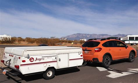 subaru impreza towing capacity 2014 starling travel 187 towing with the subaru xv crosstrek