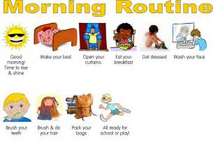 10 best images of daily routine chart for toddlers kids