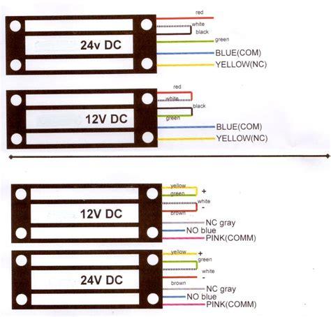 external maglock wiring diagram 31 wiring diagram images