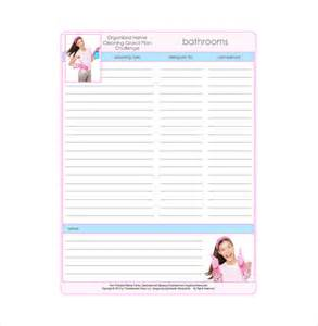 bathroom template bathroom cleaning schedule templates 5 free word excel