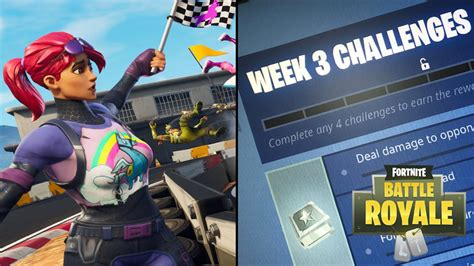 fortnite challenges for season 5 the fortnite battle royale challenges for week 3 of season