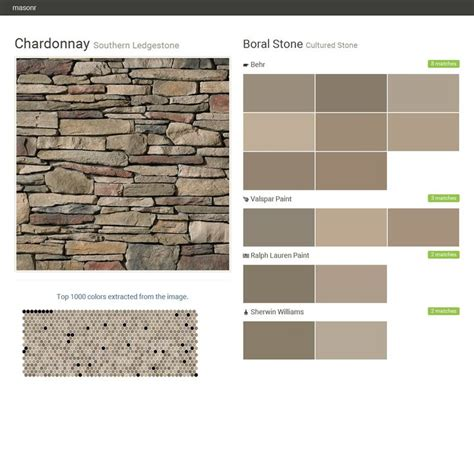 chardonnay color chardonnay southern ledgestone cultured boral