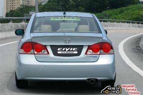 kereta honda civic honda civic hybrid new price rm125 000 to rm130 000