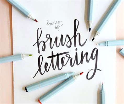 Crafty Home Decor Ideas Brush Lettering Basics At Consumer Crafts Persia Lou