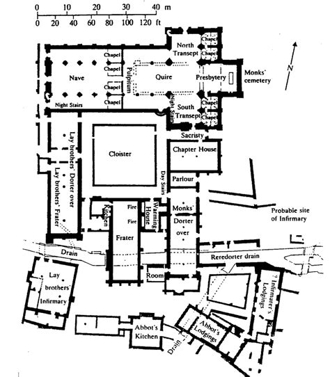 monastery floor plan 3 3 1 2 2 the latin cross type quadralectic architecture