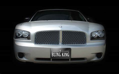 dodge grill dodge charger chrome bentley mesh grille