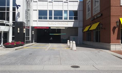 Town Alexandria Parking Garage by Town Center Parking Vbgov City Of Virginia